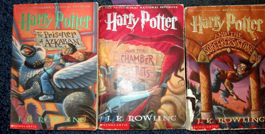 Harry Potter - okładki