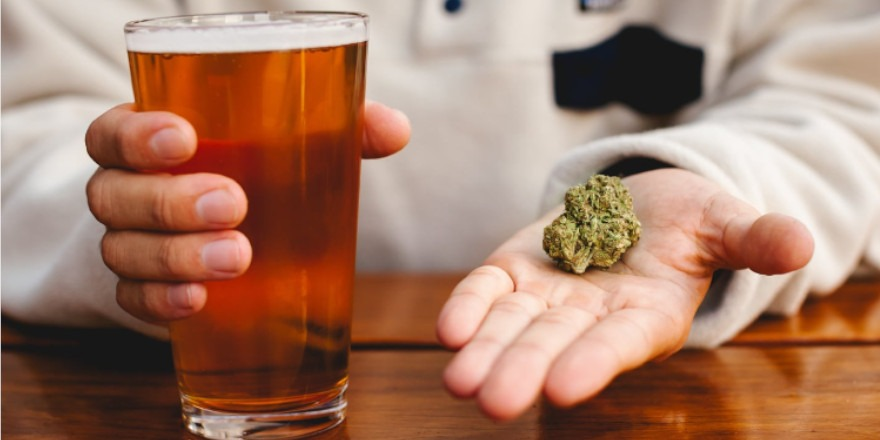 Marihuana i alkohol