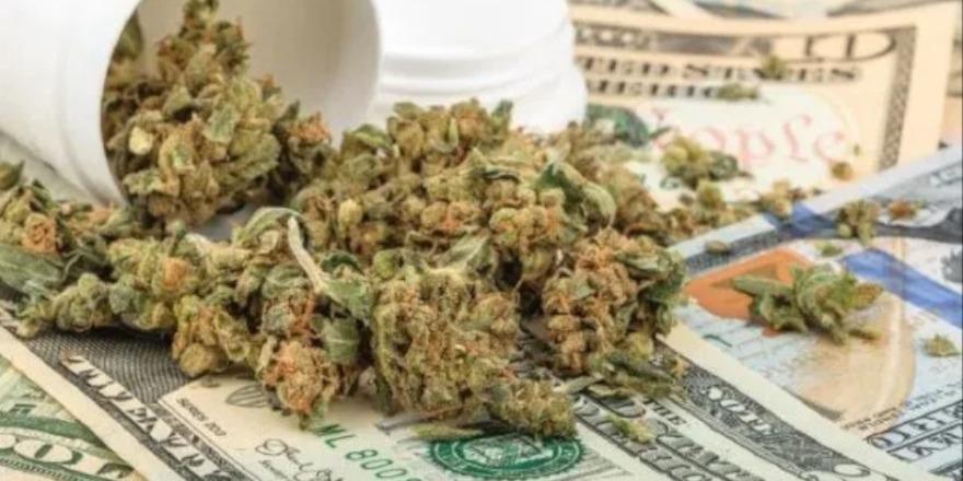 Sprzedaż marihuany