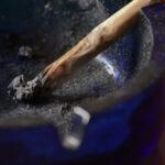 Joint w popielniczce