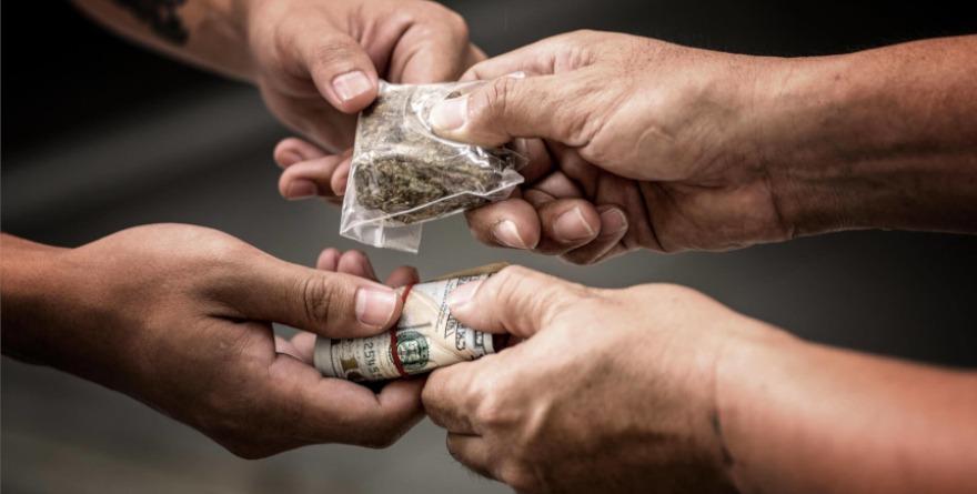 Handel marihuaną
