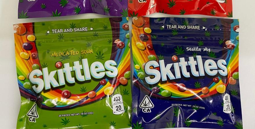 Skittles z THC